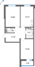 "2 ком. кв. 68м2, ЖК ""Квартал Энтузиастов"" г. Уфа, ул. Энтузиастов - Фото 1"