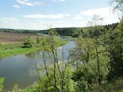 18 соток на берегу Москвы-реки с лесными деревьями - Фото 1