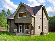 Продается дом 2012 года постройки, обжитой, с мебелью, 75 км от МКАД - Фото 1