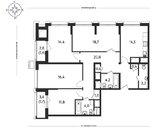 3-комн. квартира 88,23 кв.м. в современном доме бизнес-класса ЦАО - Фото 5