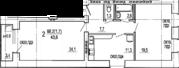 Двухкомнатная квартира в новом кирпичном доме в центре! - Фото 3
