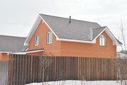Кирпичный дом в Кузнецово, 11 соток, 135 м2, платформа Бронницы. - Фото 1