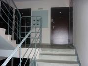 Квартира в новом кирпичном доме без отделки: санузел совместный, окна . - Фото 4