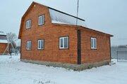 Дом ПМЖ 80 кв м на участке 7.5 соток село Никитское без отопления - Фото 1