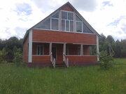 Дом 200 м2, Прописка, Газ, д. Курганиха - Фото 1