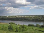 Живописный участок на берегу реки Ока в деревне Лужки, Симферопольское - Фото 1