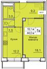Продам квартиру в новостройке ЖК «Восточная Европа» - Фото 1