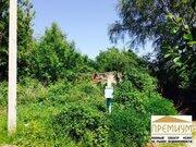 Участок 12 соток. ПМЖ, в пгт. Малино, Ступинского района - Фото 1