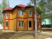 Дом со всеми коммуникациями в окружение леса. деревня Воробьи. - Фото 1