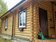 Красивый бревенчатый дом под ключ с баней газ есть - Фото 3