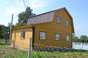 Дом ПМЖ, село Никитское 80 кв м на участке 9.5 соток 55 км от МКАД - Фото 1