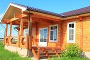 Новый красивый котедж в жилой деревне, 66 км отмкад - Фото 1
