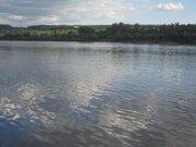 Живописный участок на берегу реки Ока д. Лужки, Симферопольское шоссе - Фото 1