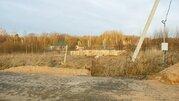 Участок с подрядом в коттеджном поселке Вернисаж у деревни Матренино - Фото 1