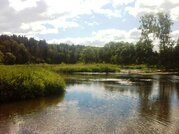 Участок на берегу реки Руза - Фото 3