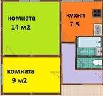 2х комнатая квартира Удальцова ул. 3к3 - Фото 1