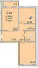 2 к кв, 62м2, 9 Тихая, дом сдан и заселен - Фото 4