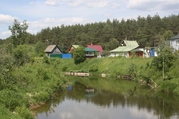 Участок у реки в Киржачском районе, д. Лисицино - Фото 1