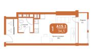 Продаётся 1-комнатная квартира по адресу Новодмитровская 2к6 - Фото 2
