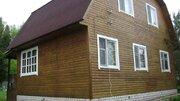 Жилой новый дом обжитой 2 эт. 80 м2 + 10 соток у леса 135 км от МКАД - Фото 1