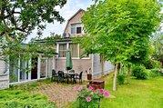 Продается отличный дом с баней и гаражом, с мебелью, 65 км от МКАД - Фото 1