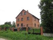 Дом в деревне 340 м2, под отделку. Чеховский район. - Фото 1