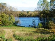 Участок на берегу реки в с.Боршева Раменского района - Фото 1