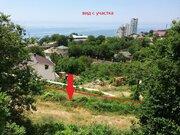 Видовые 6 соток в Кореизе, р-н Самоты, подъезд и коммуникации - Фото 1
