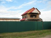 Продам недостроенный дом 100 кв.м. в с. Мальцево, 32 км от Тюмени - Фото 1