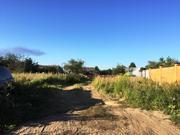 Участок 10 соток. ИЖС. 16 км от МКАД, Домодедовский р-н, д. Воеводино - Фото 1