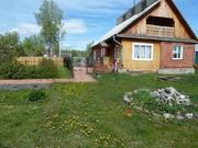 Продам дом в селе Медынино. Брус, снаружи выложен облицовочным кирпич - Фото 1