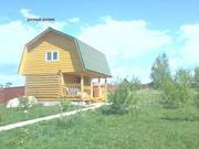 Продажа з/у 50 сот. с 2-х этажным домиком д.Кшауши Чебоксарский р-он - Фото 1