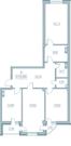 """3-х комнатная квартира Жилой комплекс """"Marina deluxe"""" г. Севастополь - Фото 5"""