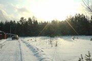 Уч. Мележи земля на краю деревни газ перед участком с сосновым лесом - Фото 1