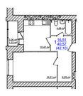 1 670 000 Руб., Купить квартиру в Жилом доме на Моховой, Купить квартиру в новостройке от застройщика в Ярославле, ID объекта - 325151262 - Фото 26