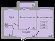 2 113 800 Руб., Бушмакина, 96 ,2 комн.кв, Купить квартиру в Перми по недорогой цене, ID объекта - 317097922 - Фото 2