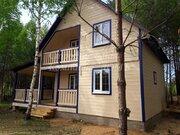 Новый дом с верандой и балконом в соснах у реки - Фото 2