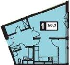 Продается просторная 1 к квартира, 50.3 м2
