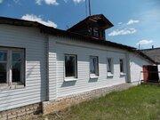 Двухкомнатный бревенчатый дом с гаражом в пос. Петровский - Фото 3