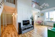 Дизайнерская квартира в лесопарковой зоне, Купить квартиру в Екатеринбурге по недорогой цене, ID объекта - 319623729 - Фото 1