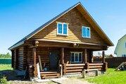 Рубленый дом в деревне Бережки на 14 сотках - Фото 1