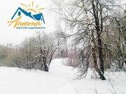 Участок на берегу озера в Калужской области. - Фото 1