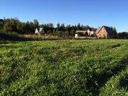 Участок 8 соток в д.Ваюхино Рузский район на берегу водохранилища - Фото 1