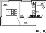 """Продается 1-комн.квартира 39,7 кв. м. в ЖК """"Нахабино Ясное"""" - Фото 5"""