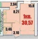 1 090 000 Руб., 1-к квартира Оржевского, д.1, Купить квартиру в Саратове по недорогой цене, ID объекта - 323126320 - Фото 2