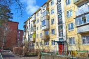 Продаётся 2-х комнатная квартира п. Загорянский, ул. Орджоникидзе д.46 - Фото 1