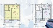 1 комн 49,2 кв.м в новом доме в Центральном районе - Фото 2