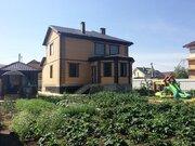 Дом 240м2 и гостевой дом 72м2 в п Михнево (мкр Южный) Ступинского р-на - Фото 1