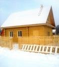 Новый деревянный дом в Мысах Краснокамского района - Фото 1