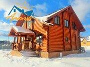 Бревенчатый дом на границе Новой Москвы в поселке Лазурный берег. - Фото 3